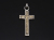 BRUCE MORGAN × SYMPATHY OF SOUL Collaboration Cross Pendant - L