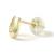 Horseshoe Pierce - K18 Yellow Gold