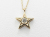 Little Shine Star Necklace - K10Yellow Gold w/Diamond