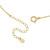 Small Charm Necklace - Horseshoe - K18 Yellow Gold
