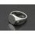 Oval Signature Ring - Silver