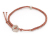 Octagon Cord Bracelet w/Bead Single