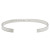 "YOSHIMASA HOSHIBA × SYMPATHY OF SOUL Collaboration Bangle ""Parole d'amore"" - Silver"