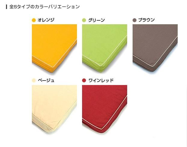 カラーバリエーション5種