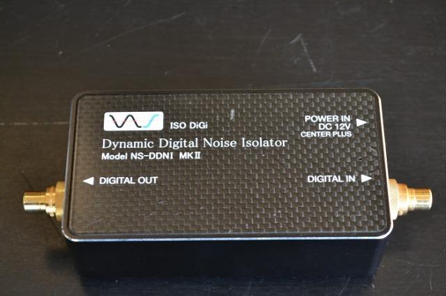 中古品 中村製作所 デジタルノイズアイソレーター NS-DDNI MK2