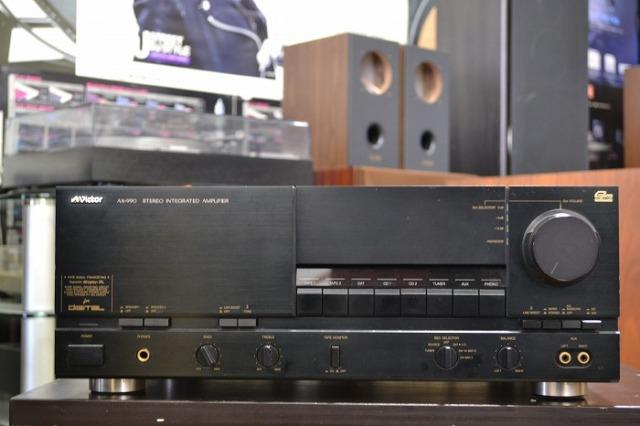 中古品 ビクター プリメインアンプ AX-990