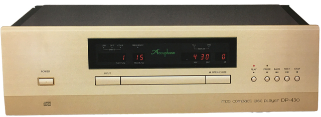 Accuphase(アキュフェーズ) DP-430 MDS CDプレーヤー