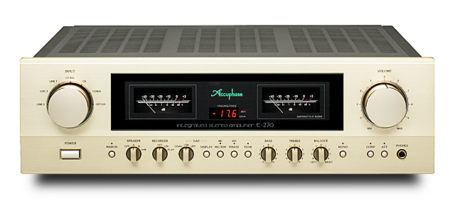 Accuphase(アキュフェーズ) E-270 インテグレーテッド・ステレオアンプ
