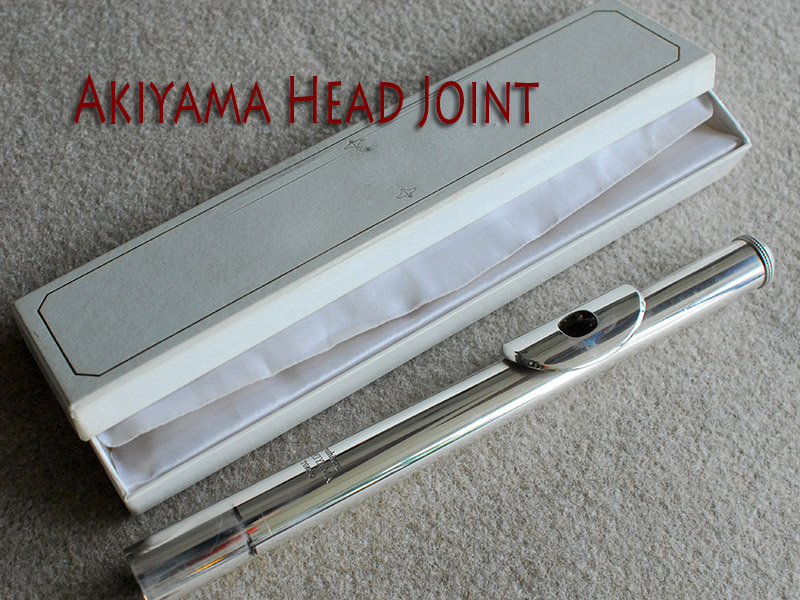 ★Spring★ AKIYAMA 頭部管 19th Century Silver Seamed Tube and Lip plate