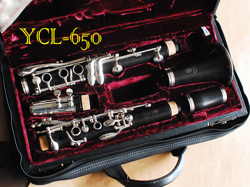 YAMAHA YCL-650 Bb CLRINET クラリネット 良品
