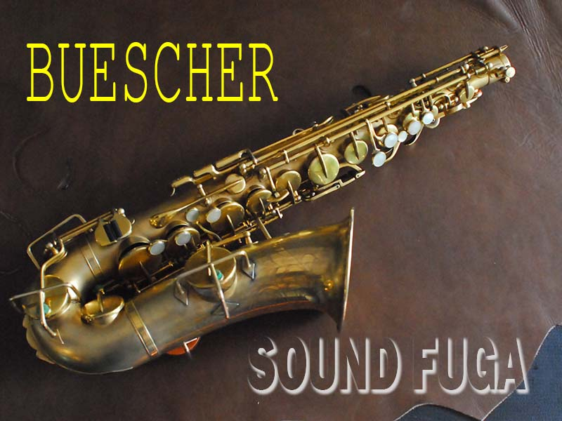 BUESCHER TRUE TONE ALTO SATIN GP アルトサックス 良品