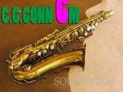 C.G.CONN 6M Naked Lady 26万番 希少NY STYLE NECK アルトサックス