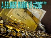 A.SELMER MARKVI 20万番台 オリジナルラッカー アルトサックス Maceo Parker選定品