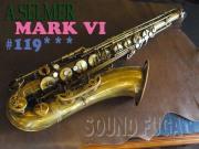 A.SELMER MARK VI テナーサックス アンラッカー 11万番台