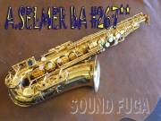 A.SELMER BA 26千番台 アルトサックス 委託品