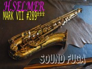 H.SELMER MARK VII 彫刻付 28万番台 オリジナルラッカー99% テナーサックス 美品