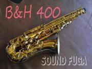 B&H(Boosey and Hawkes) Model400 GL アルトサックス