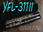 YAMAHA YFL-311II  頭部管銀製フルート 良品