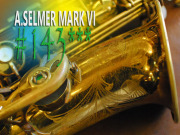 A.SELMER MARK VI 143千番台 OH済 オリジナルラッカー80% アルト