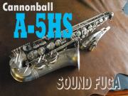 "CANNONBALL A5-HS""Hot Spur"" アルトサックス 良品"