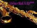 A.SELMER MARK VI  オリジナルラッカー99% Low-A無し バリトンサックス