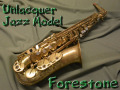Forestone Unlacquer Jazz Model アルトサックス 委託品