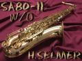 ★★★ H.SELMER SA-80II 彫刻なし テナーサックス
