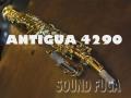 ANTIGUA 4290 プロモデル SOPRANO ソプラノサックス 美品
