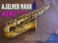 A.SELMER MARK VI 147千番台 オリジナル→アンラッカー アルト
