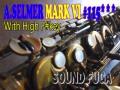 A.SELMER MARK VI 11万番台 希少High-F#キー付 オリジナルラッカー アルトサックス