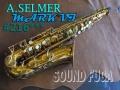 A.SELMER MARK VI 21万番台 オリジナルラッカー85% アルトサックス