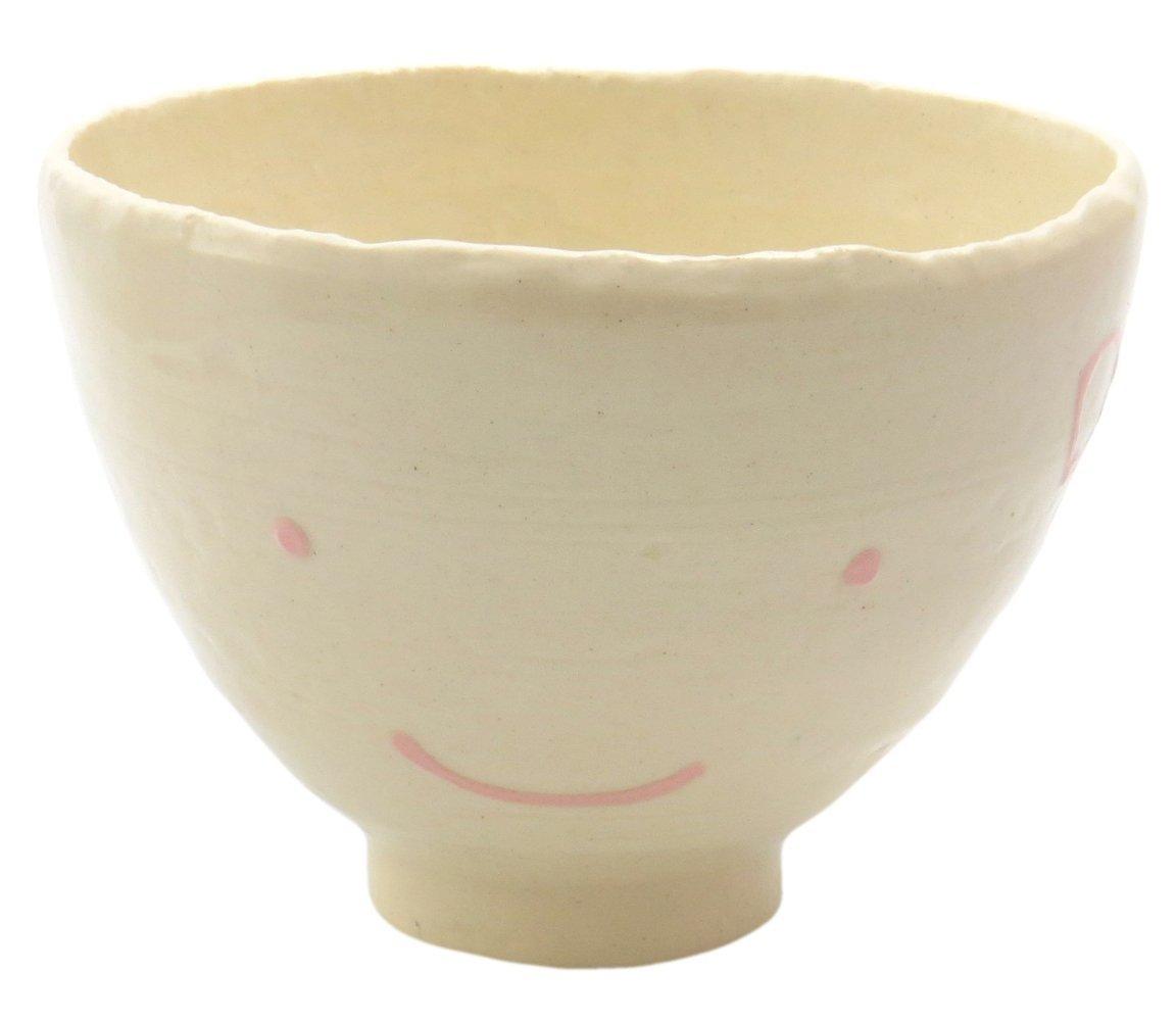スマートな形のご飯茶碗【飯碗(ピンクリボン)】