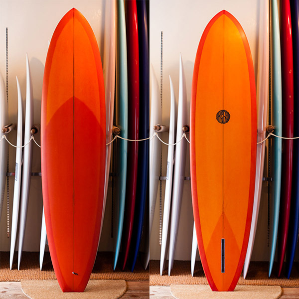 "[CHRISTENSON SURFBOARDS] FLAT TRACKER 7'8"""