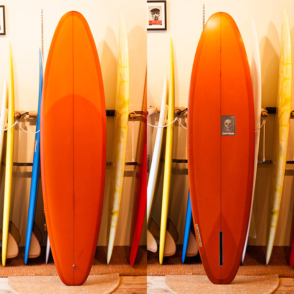 [CHRISTENSON SURFBOARDS] Invisible Policeman 7'0″