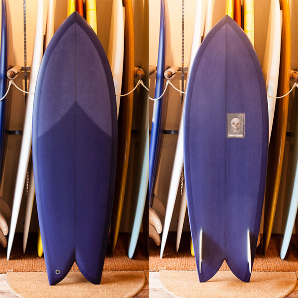 [CHRISTENSON SURFBOARDS] TWIN FISH  5'7""