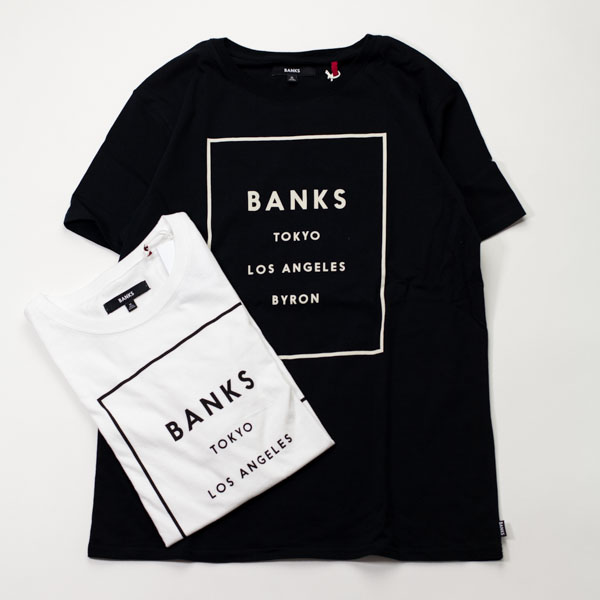 [BANKS] LABEL TEESHIRT