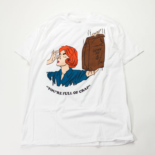 [CAPTAIN FIN Co.] FULL OF IT S/S PRE TEE