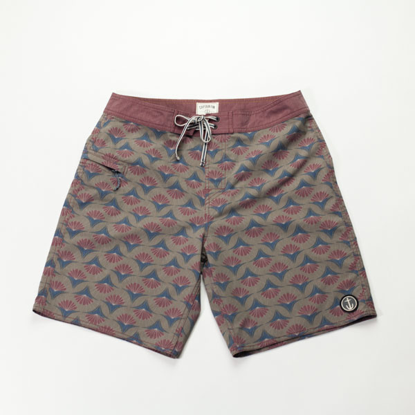 [CAPTAIN FIN Co.]  IN BLOOM BOARDSHORT