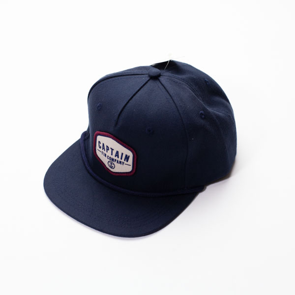 [CAPTAIN FIN Co.] CLASSICAL 5 PANEL PREM HAT