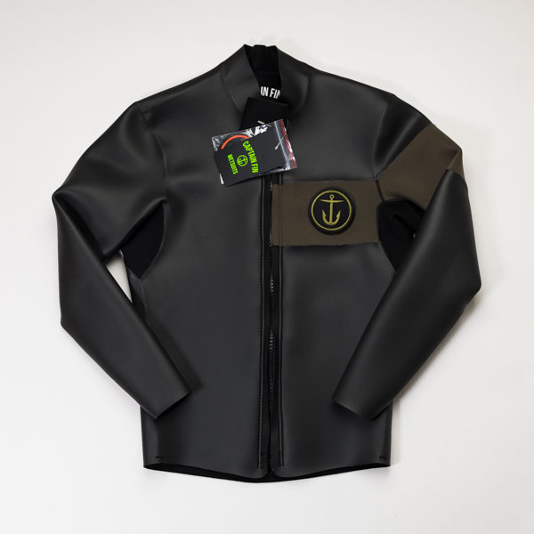 [CAPTAIN FIN Co.] 2MM SKINJACKET Military