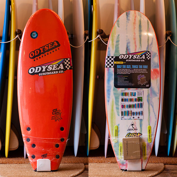 "[CATCH SURF] ODYSEA STUMP 5'0""-Quad Fin /orange"