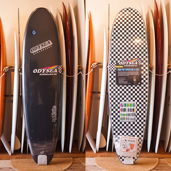 [CATCH SURF] ODYSEA LOG 7.0 - BLACK/CHECKER (Japan ltd)
