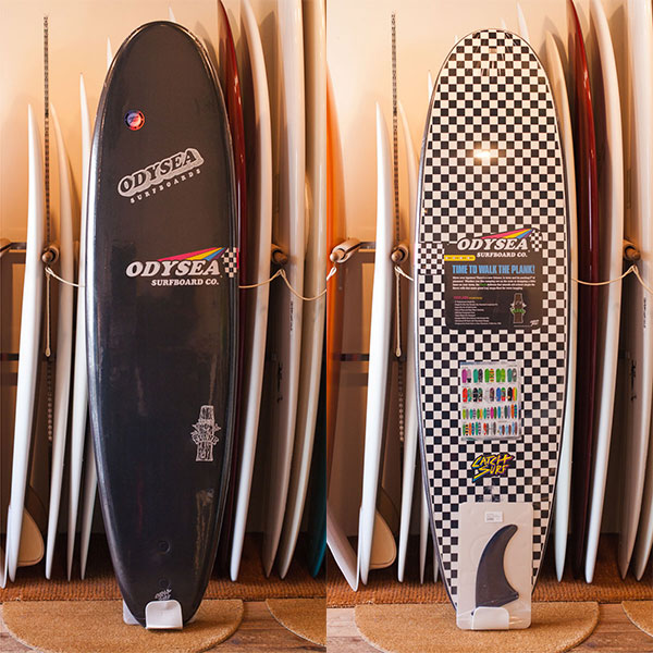[CATCH SURF] ODYSEA PLANK 7.0 - BLACK/CHECKER (Japan ltd)