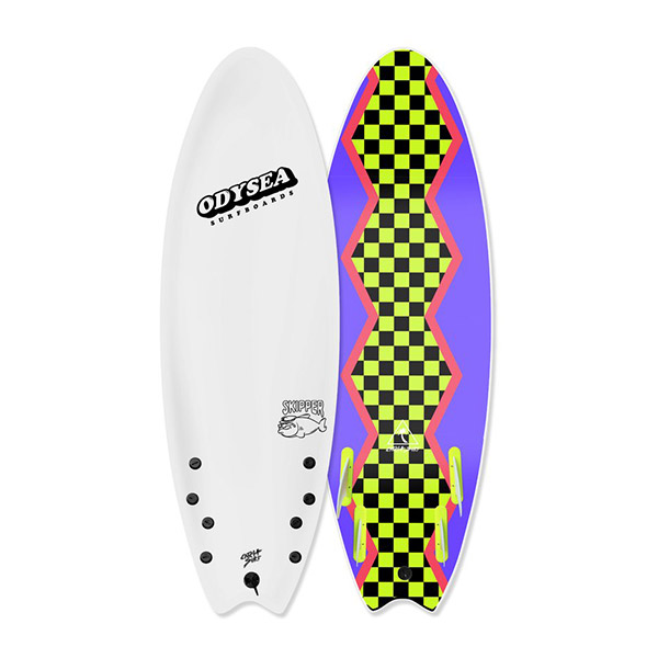 "[CATCH SURF] SKIPPER - QUAD - 5'6""-WHITE18"