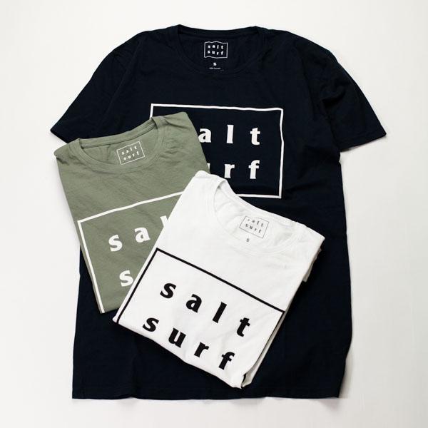 [SALT SURF] SALT SURF LOGO TEE