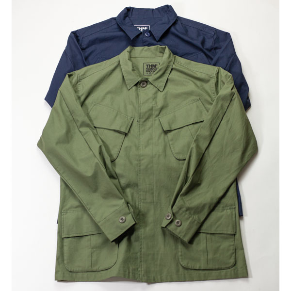 [THE HARD MAN] Fatigue jacket