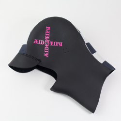 [AIDENTIFY]  LADY'S SURF CAP (neck付き)/ Checker