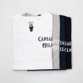 [Captains Helm] #USA made LOGO V-neck tee
