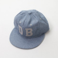 [Captains Helm �� DYER BRAND] #EBBETS FIELD -Chambray Cap