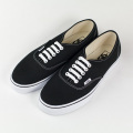 [VANS] AUTHENTIC BLACK